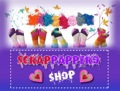 Scrappappero prodotti Scrapbooking shop online