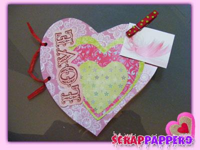 Scrapbooking Album cuore 06_09
