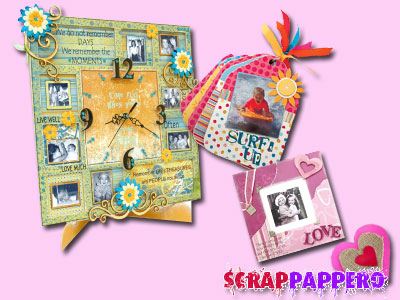 Prodotti kaiser scrap album in mdf da decorare