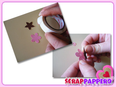 fiori carta scrap 03 colla gluedot