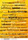 scritte halloween carta scrapbooking