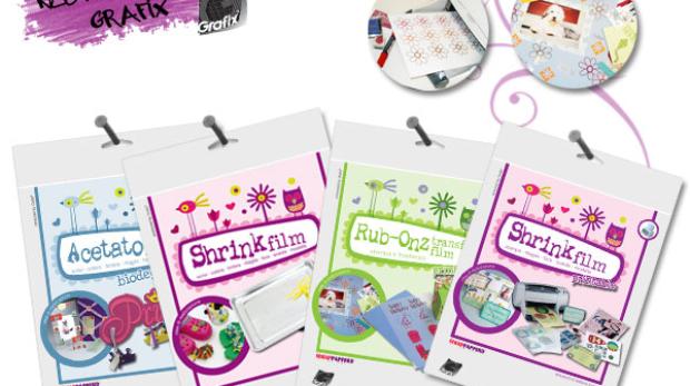 prodotti grafix shrink stampabili e altro