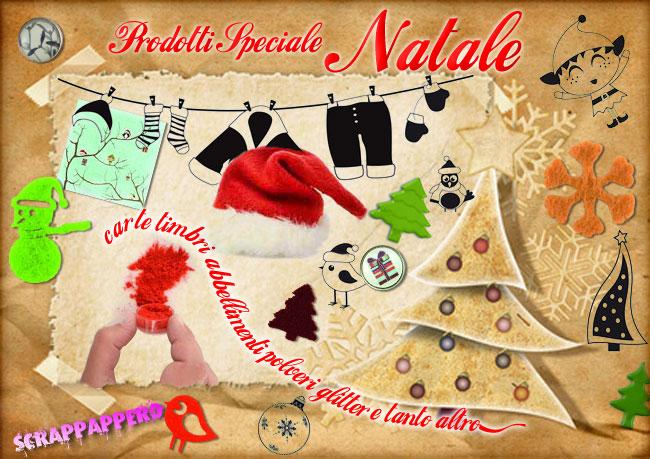 Natale 2011 offerte prodotti scrapbooking e abbellimenti