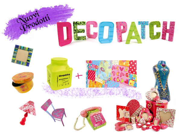 Decopatch carta per decorazioni