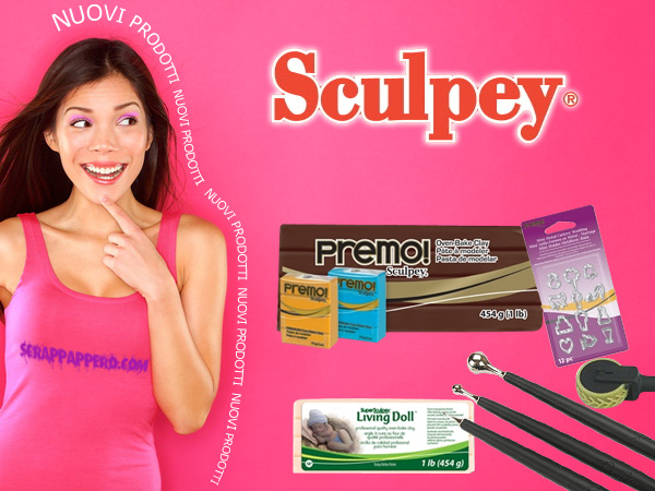 Sculpey Premo pasta modellabile ed accessori