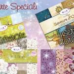 Carte e cartoncini scrap speciali effetti