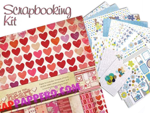 kit scrapbooking mme allin1 vendita