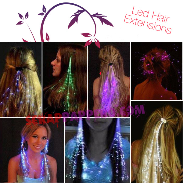 Hair Led Optic Extensions
