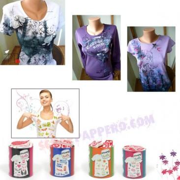 Personalizza magliette e tessuti