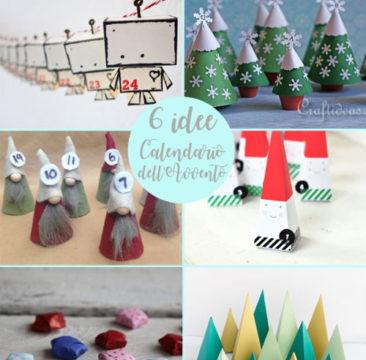 Calendari dell'Avvento 6 idee per Natale