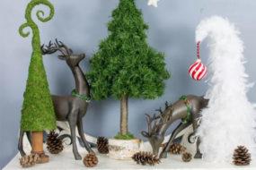 Alberi di Natale in stile fiabesco