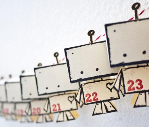 calendario avvento robottini