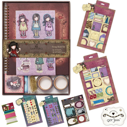 scrapbooking kit santoro gourjuss