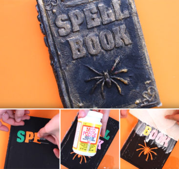 DIY come creare un libro degli incantesimi