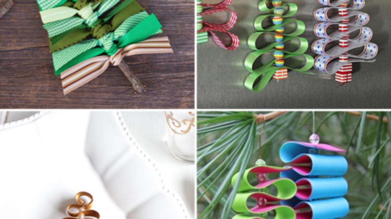 Idee Creative Per Natale diy natale: idee per decorazioni con nastri - scrappappero
