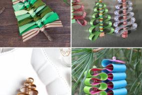 Diy Natale: idee per decorazioni con nastri