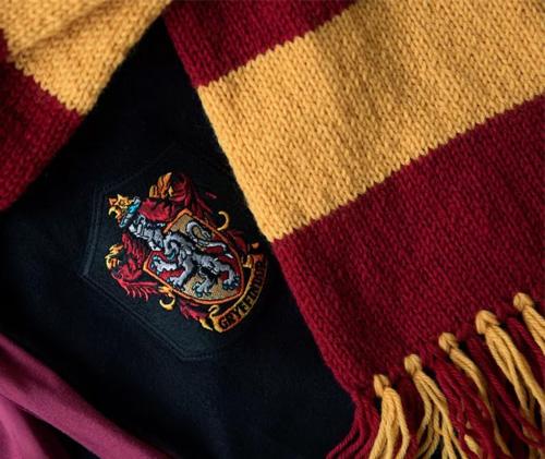 tutorial harry potter gryffindor scarf