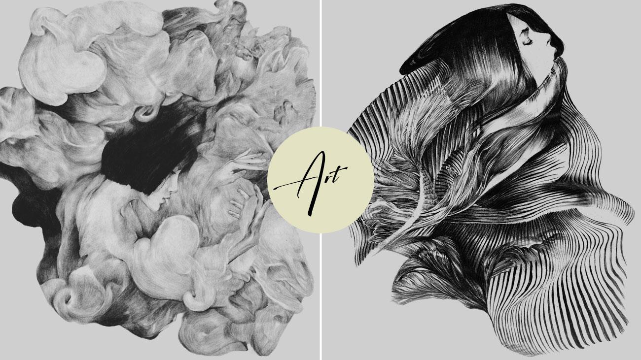 artist graphite drawing